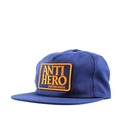 Antihero Reserve Patch Cap Snap Navy