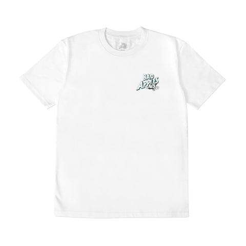 Bad Apples Ghost Tee White