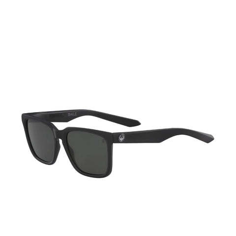 Dragon Baile H20 Matte Black Polarized Luma lens Smoke Lens