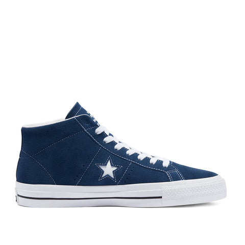 Converse Cons One Star Pro Mid Ben Raemers Foundation Navy/White/Black