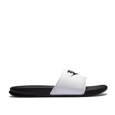 Nike Benassi Slides White/Black