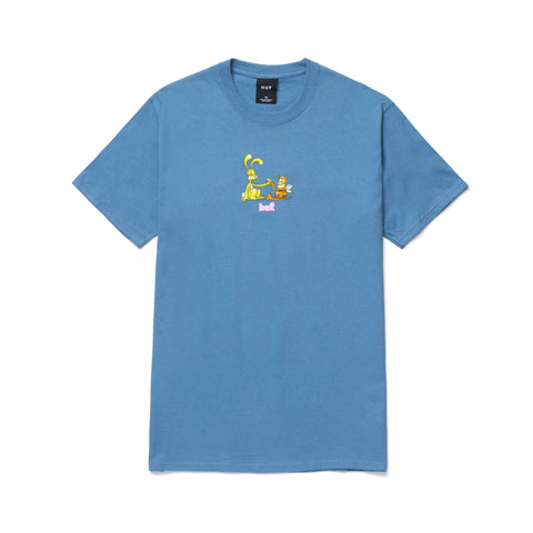 Huf Best Friends Tee Colonial Blue
