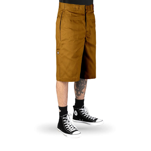 Dickies 13 Inch Work Short Duck Brown