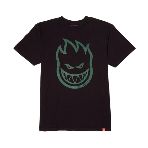 Spitfire Bighead Tee Black/Green Sale