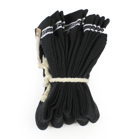 Passport 5 Pack of Socks Black
