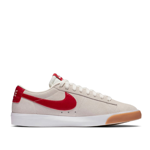 Nike SB Zoom Blazer Low GT Sail/Cardinal Red White