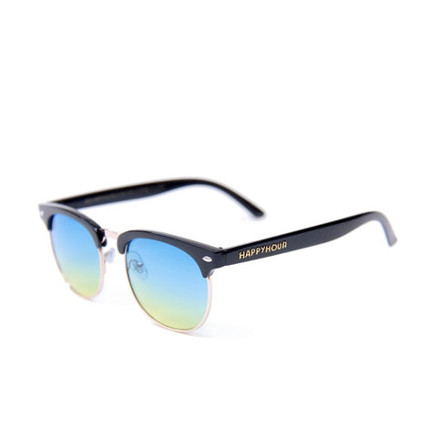 Happy Hour G2 Black Gloss Ocean Fade Lens