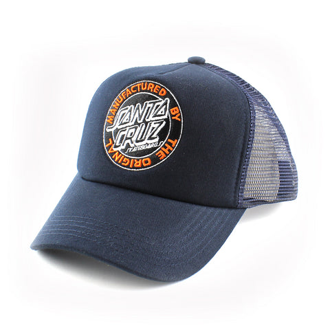 Santa Cruz Original Dot Trucker Blue