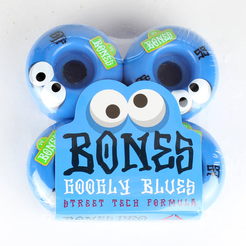 Bones STF Googly Blue Wheels 53mm
