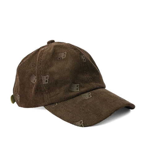 Bronze 56k Allover Embroidered Cap Brown