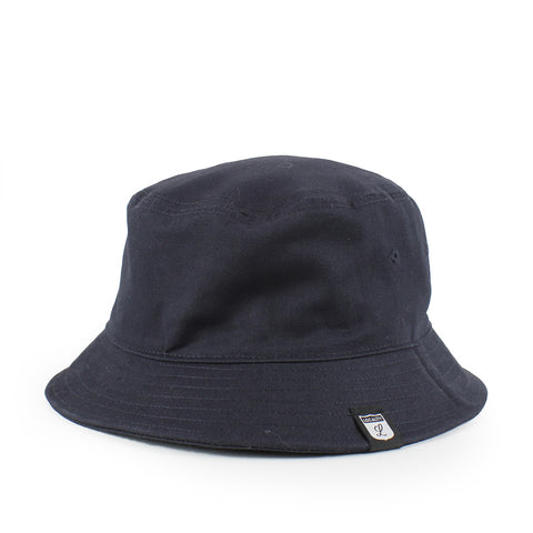 Locality Shield Bucket Hat Navy
