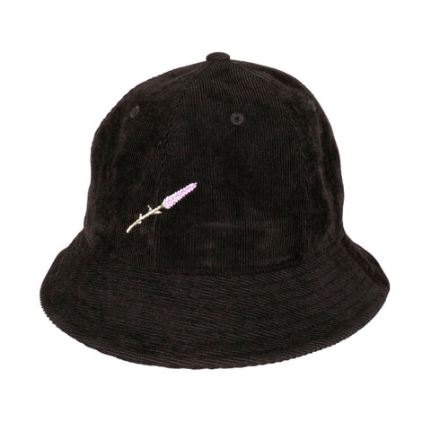 Passport Lavender Bucket Hat Black
