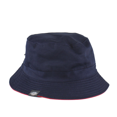 Dickies Stamford Reversible Bucket Hat Navy/Red