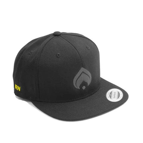 Burn Logo Snap Black