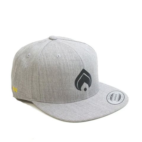Burn Logo Snap Grey