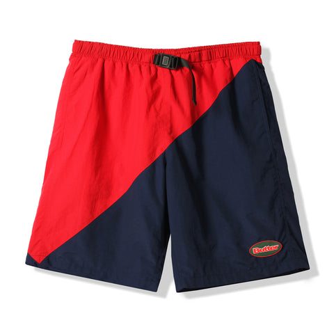 Butter Goods Split Short Red/Navy