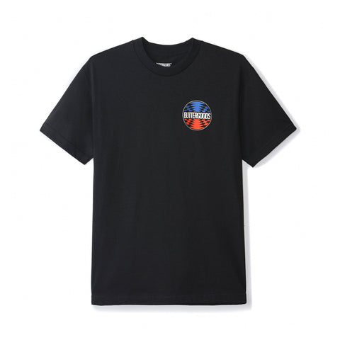 Butter Goods Press Logo Tee Black
