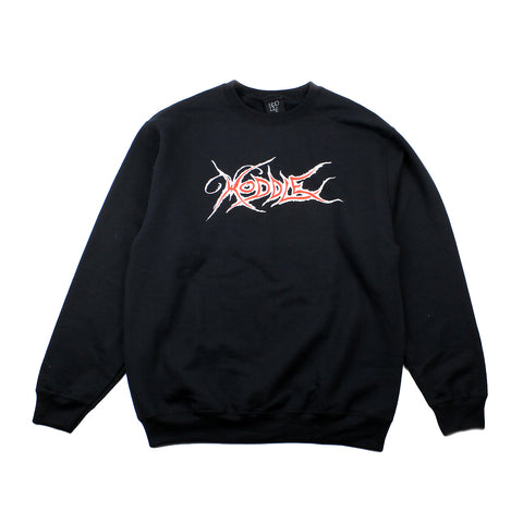 Hoddle Butterfly Crew Neck Black