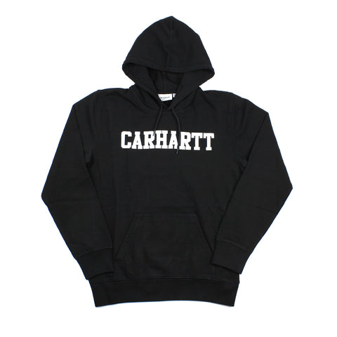 Carhartt Hooded College Sweater Black/White