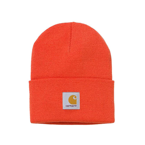 Carhartt Acrylic Watch Hat Safety Orange