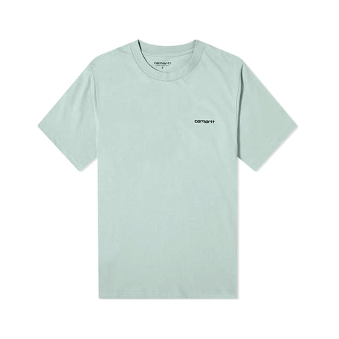 Carhartt Script Embroidery Tee Frosted Green/Black