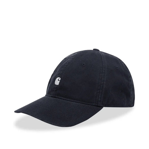 Carhartt Madison Logo Cap Dark Navy/White