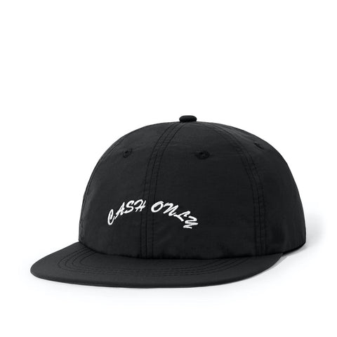 Cash Only Logo 6 Panel Black