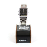 Casio Duo Time Silver/Black AQ230A-1DS