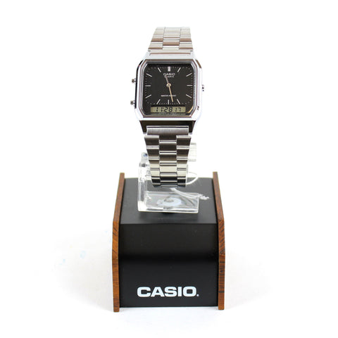 Casio Duo Time Silver/Black