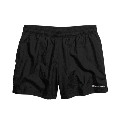 Champion Crinkle Nylon Short Black Sale