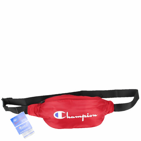 Champion C Life Script Waist Bag Team Scarlett Red