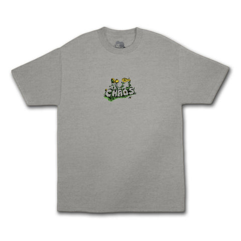 Come Sundown Chaos Tee Grey Sale