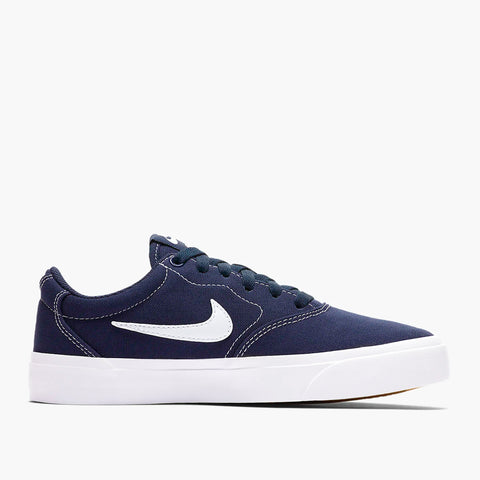 Nike SB Charge Canvas Navy/White Sale