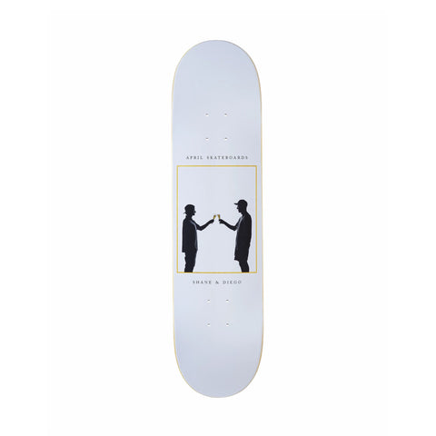 April Cheers Deck White 8.38