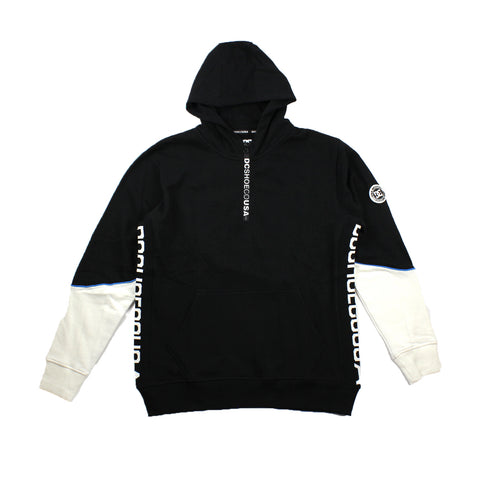 DC Glynroad PH Half Zip Hood Black