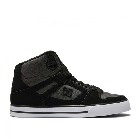 DC Pure High Top Charcoal/Heather