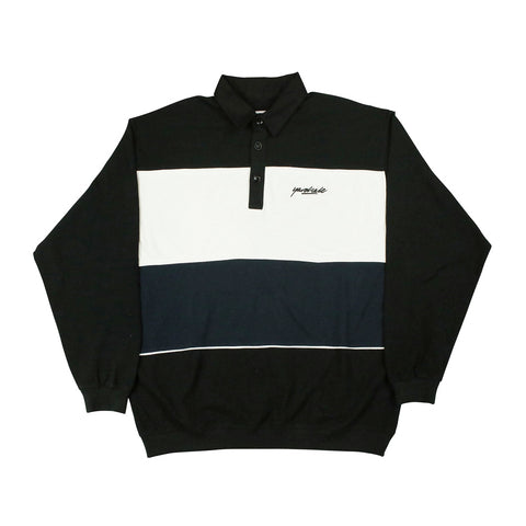 Yardsale Heat Longsleeve Polo Black