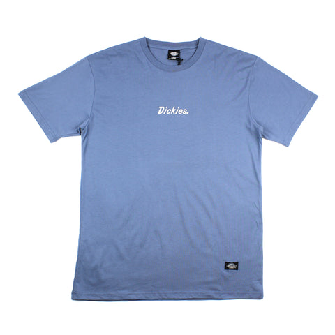 Dickies Midland Embroidered Tee Steel Blue