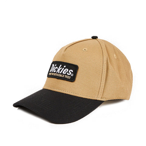 Dickies Kingston CP Snapback Black Brown Duck Khaki