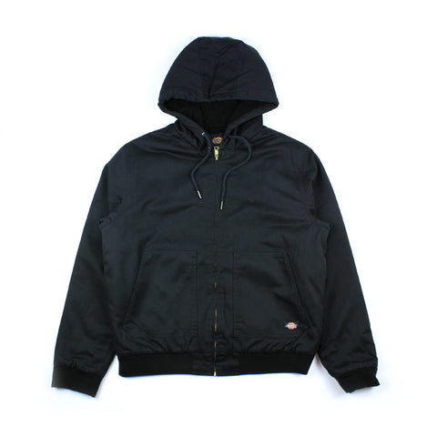 Dickies Hooded Bomber Lined Jacket Anson/Black