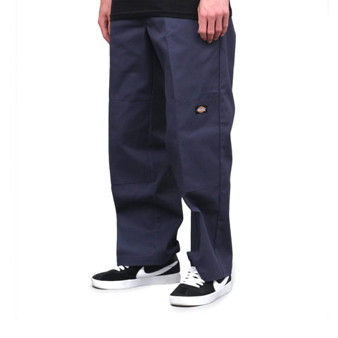 Dickies Loose Fit Double Knee Pants Dark Navy