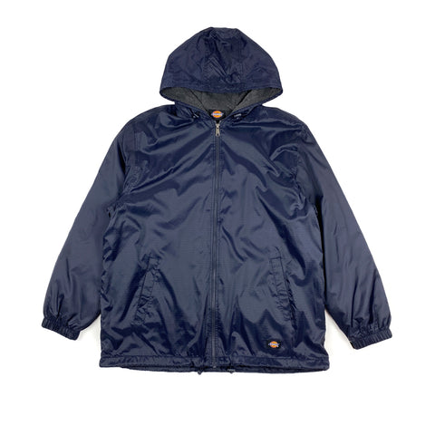 Dickies Fleece Lined Hooded Jacket Dark Navy