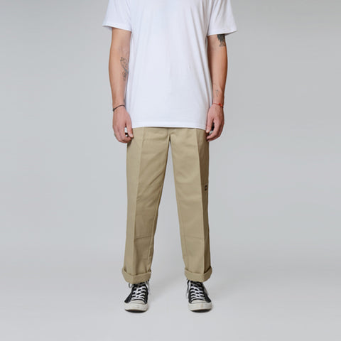 Dickies Loose Fit Double Knee Pants Khaki