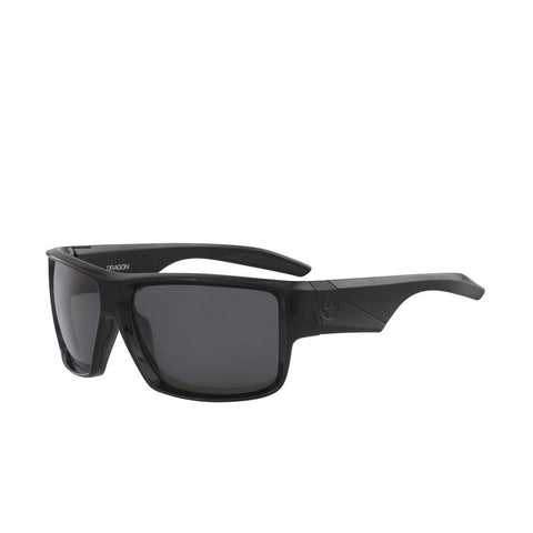 Dragon Deadlock H20 Matte Black/ Solid Smoke Polarized