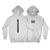 Passport Drill Bit Hood Grey Heather