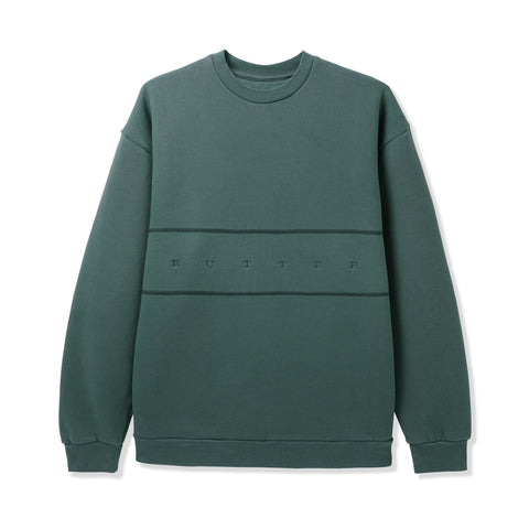 Butter Goods Hampshire Pigment Crewneck Pine