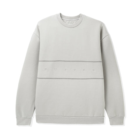 Butter Goods Hampshire Pigment Crewneck Cement