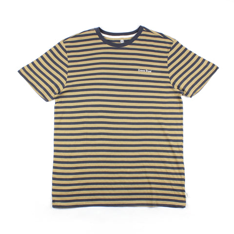 Element Manual Stripe Tee Travertine