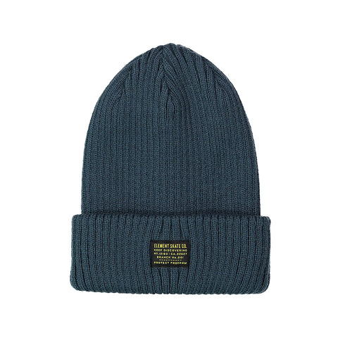 Element Fundamental Beanie Blue Indigo