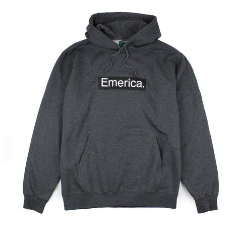 Emerica Pure Bar Hoodie Charcoal